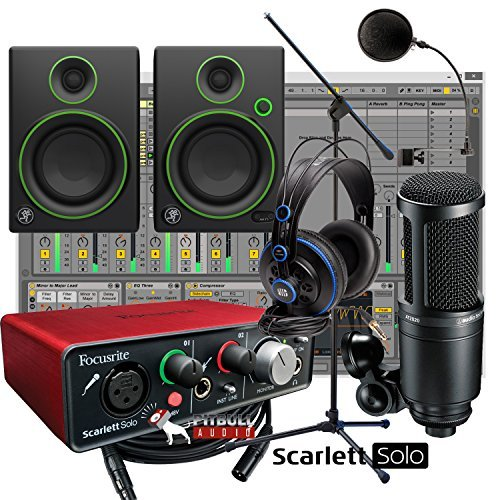 Youtube Studio Setup: How To Set Up A Home Recording Studio Under $1000