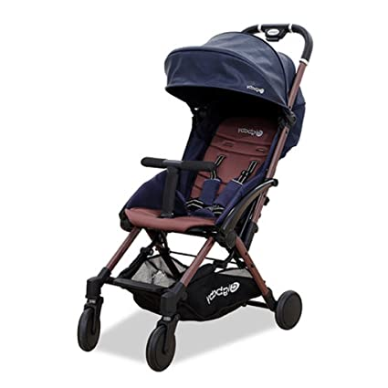 HJHY Carrito de bebé, Paisaje alto Doblar el coche del paraguas Ultra-ligero portable
