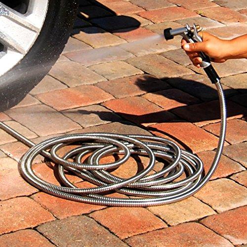 Bionic Steel 304 Stainless Steel Metal Garden Hose Import It All