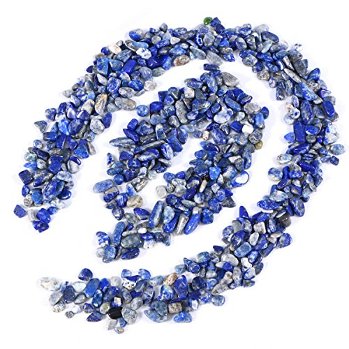 UEETEK Polished Gravel Mixed Color Decorative River Rock Stones for (Blue Polished Flooring)