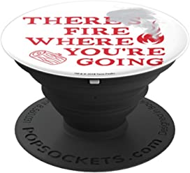 Twin Peaks There's Fire Where You're Going Smoke Art - PopSockets Grip and Stand for Phones and Tablets