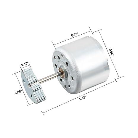 Sourcingmap Vibration Motor Dc 6v 7000rpm Electric Vibrating Micro