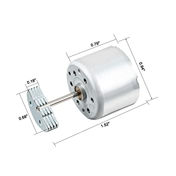 Uxcell Vibration Motor Dc 6v 7000rpm Electric Vibrating Micro Motor