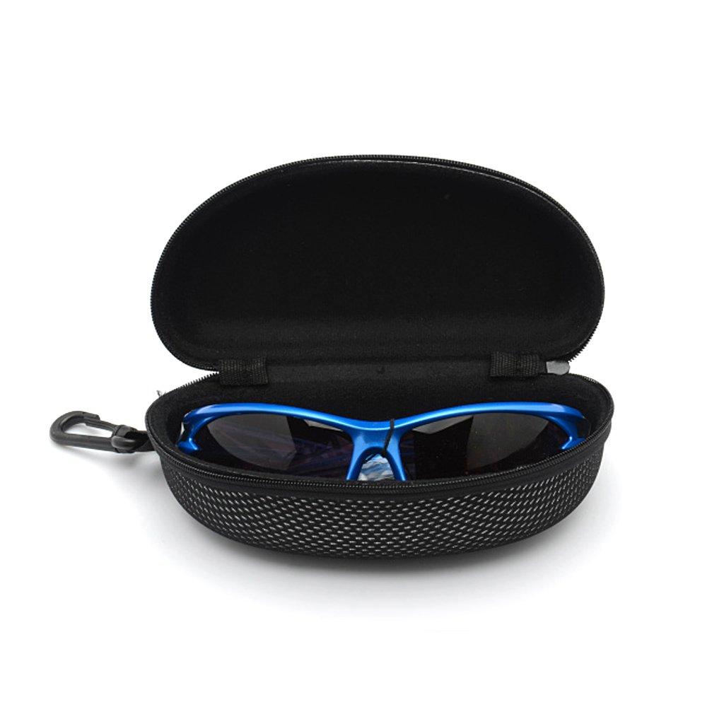 Zippered Hard EVA Sport Glasses Case Goggles Case BecauseOf Portable Sunglasses Case