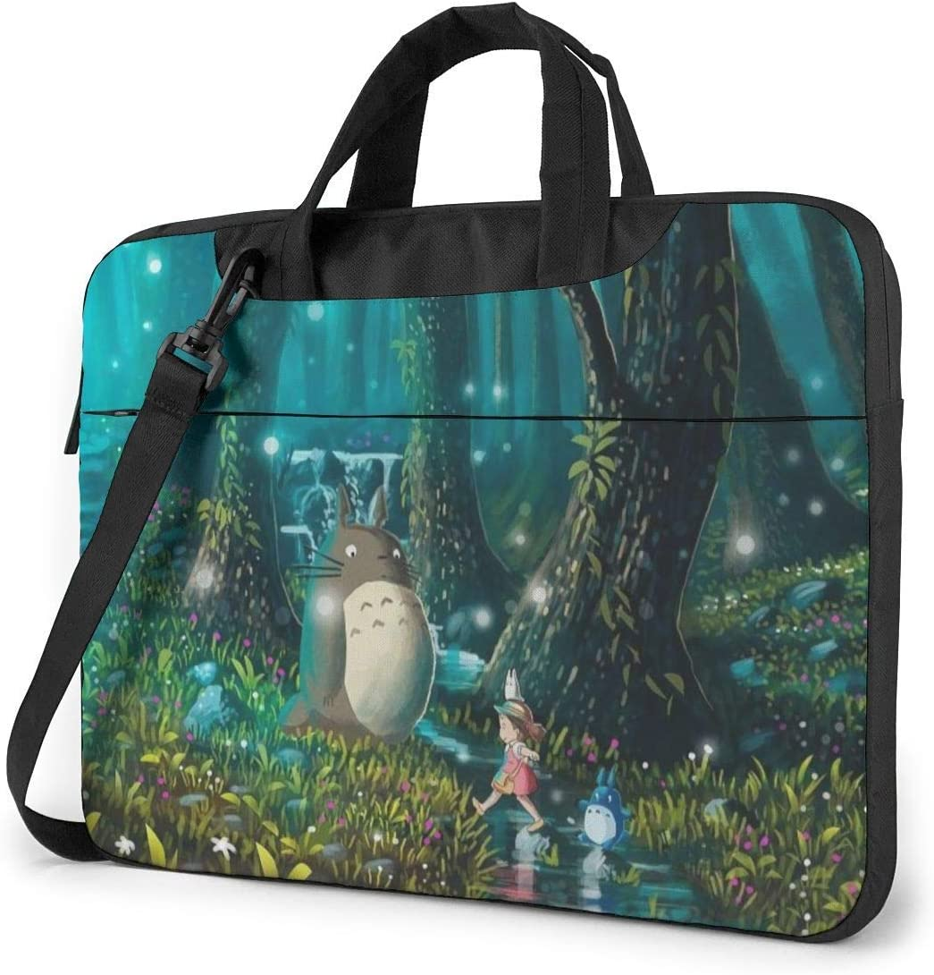 My Neighbor Totoro Laptop Sleeve Bag Case 14 inch MacBook Air Pro Notebook Sleeve Case Portable Briefcase Tote