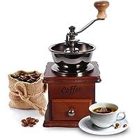 Coffee Grinder, Retro Design Coffee Bean Hand Grinder Manual Mini Mill Home Office Espresso Grinder Decoration Espresso Manual Grinder