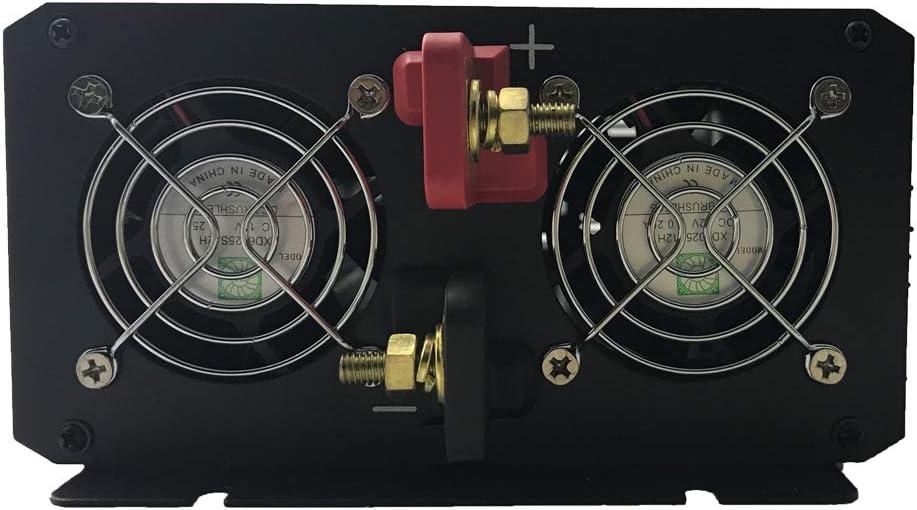 onda sinusoidal pura inversor de corriente DC 12 V 24 V 48 V a AC 220 ~ 230 V 50 Hz Solar conversor para uso en casa coche Xijia 3000 W m/áximo 6000 W