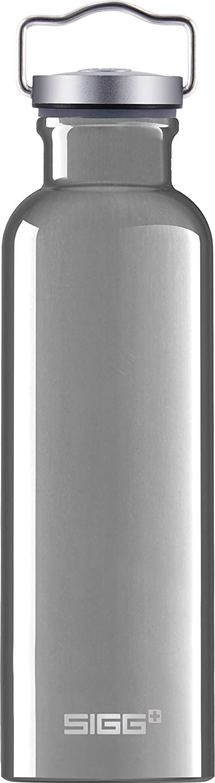SIGG Original Alu Botella cantimplora (0.75 L), botella con tapa especialmente hermética sin sustancias nocivas, botella de aluminio ligera