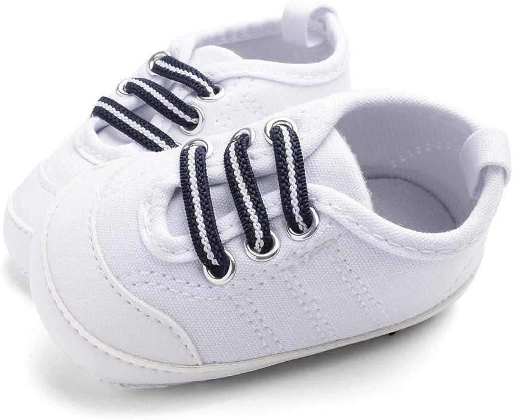 Snakell Krabbelschuhe Leinwand rutschfest Babysneaker Babyschuhe Neugeborenen Leder Schuhe Sportschuh Jungen Lauflernschuhe M/ädchen Krippeschuhe Krabbelschuhe Streifen Wanderschuhe