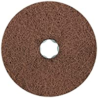 """Pferd 48133 Combiclick Non-Woven Disc, Soft Type, 4-1/2"""" Diameter, 10,500 RPM, Very Fine Grit (Pack of 10)"""