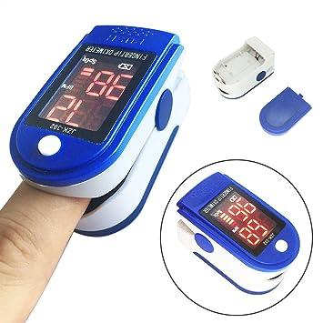 sixsun oxímetro de Pulso de Dedo SPO2 Monitor de Oxígeno en ...