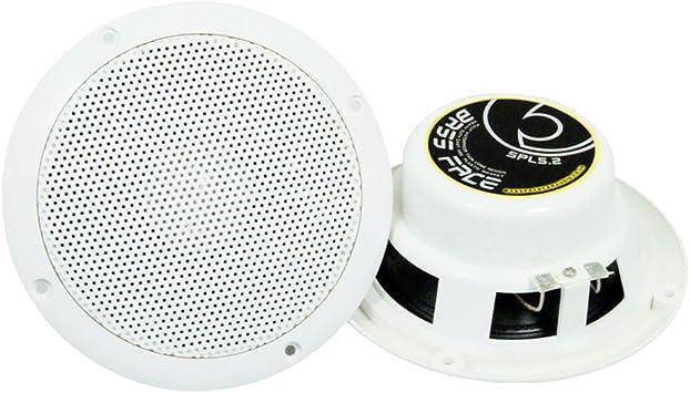 * weiße Lautsprecher 13cm Paarpreis Marine Serie = wasserabweisend \