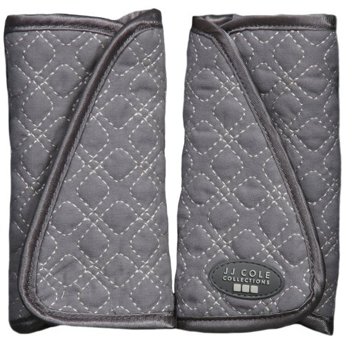 JJ Cole Strap Covers Graphite - Car Seat Strap Covers