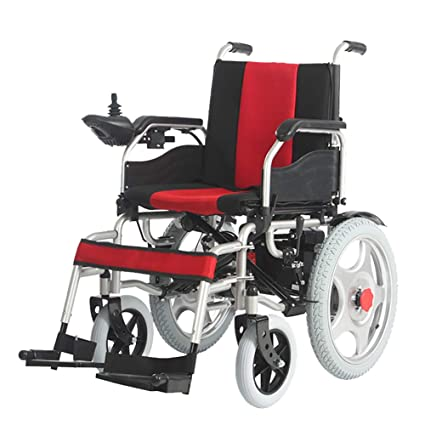 Amazon.com: Electric Power Wheelchair with 360° Intelligent ...