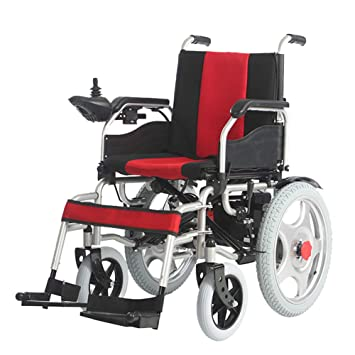 Amazon.com: Electric Power Wheelchair with 360° Intelligent ...