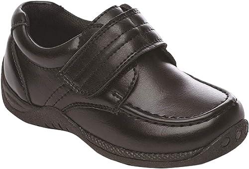 Boys Black School Shoes by SurfTheShop