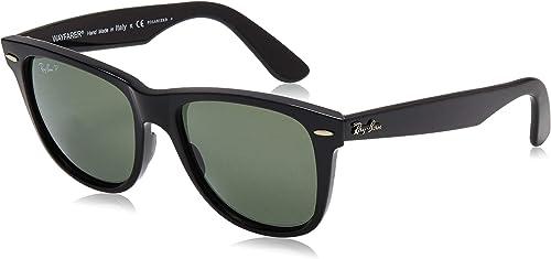 Ray Ban Original Wayfarer Sunglasses RB2140 901/58 Black/Crystal Green Polarized 54mm: Ray-Ban: Amazon.ca: Shoes & Handbags