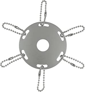 product image for Eder Flag Award Ribbon Pole Ring 3-1/2 Inch Silver