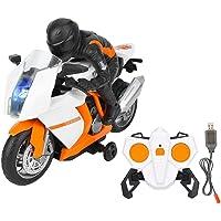 VGEBY1 Motocicleta de Control Remoto, Juguete de Modelo