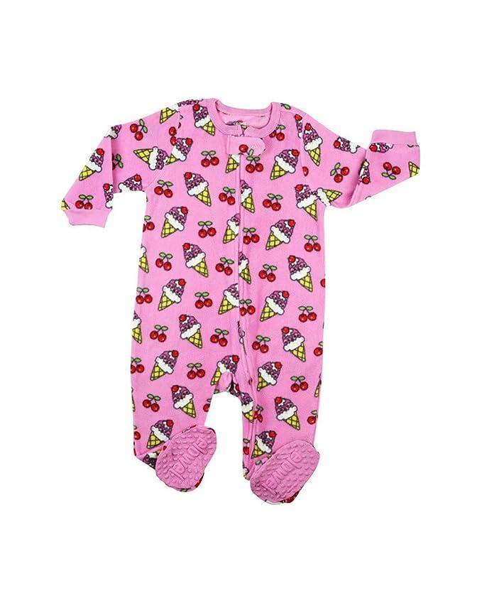 Elowel - Pijama para Bebe Nina Polar (Talla 6 M-5 Anos): Amazon.es: Ropa y accesorios