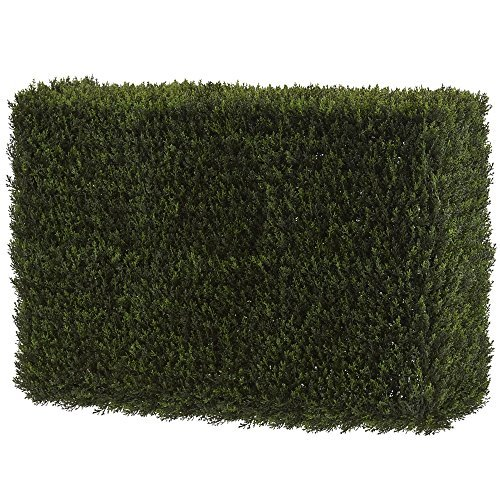 Nearly Natural 4889 Artificial 20'' (Indoor/Outdoor) Decorative Cedar Hedge by Nearly Natural