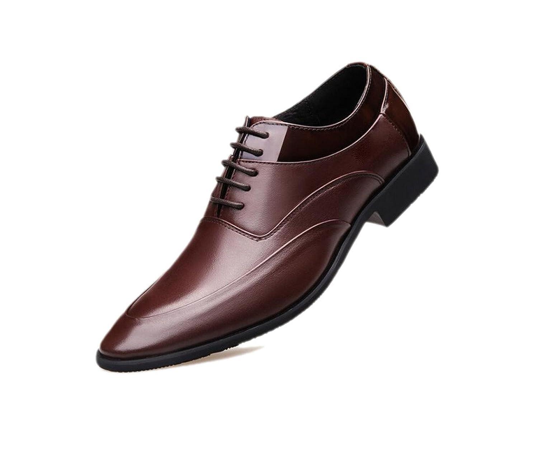 DANDANJIE Herren Loafers Brogues Business Schuhe Fahren Schuhe Klassischen Stil Formale Schuhe Gentleman Freizeit Rot