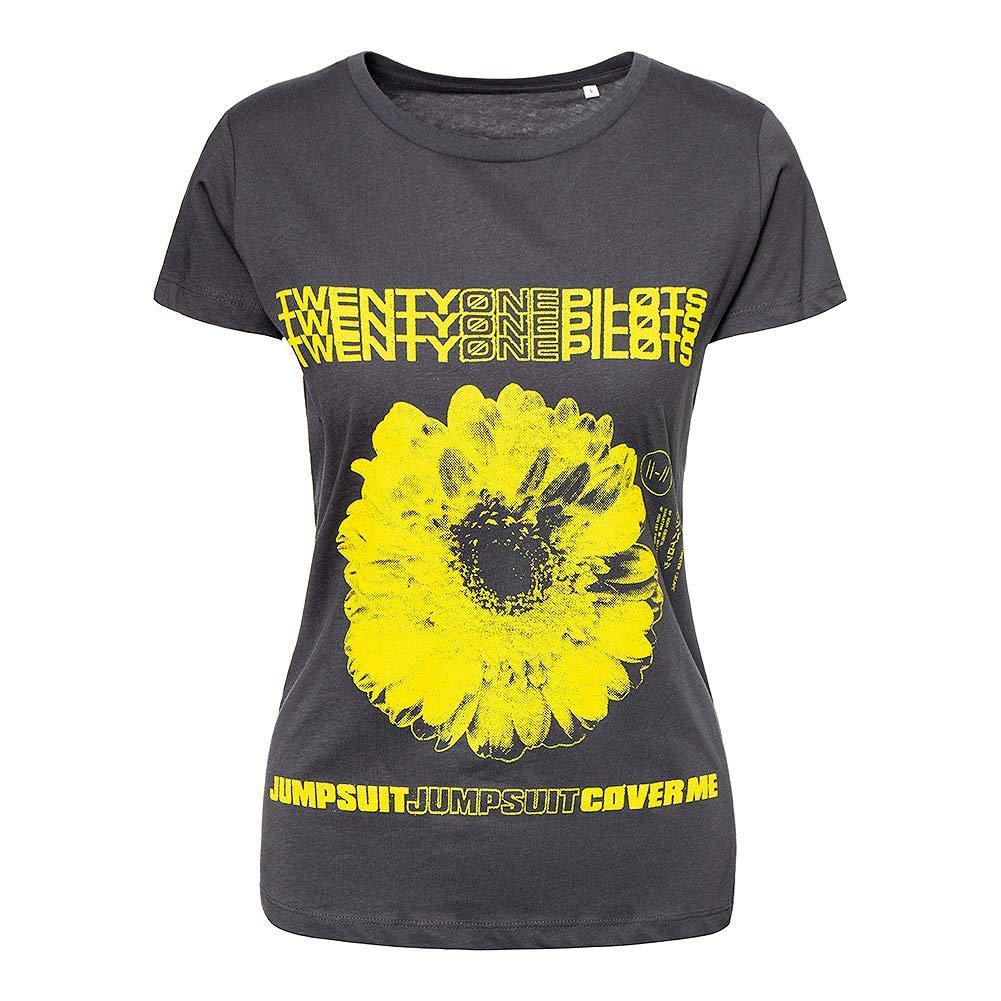Twenty One Pilots Official Daisy T Shirt (Grey)