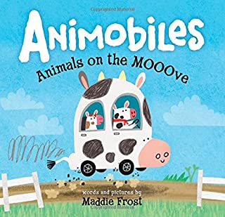 Book Cover: Animobiles: Animals on the Mooove