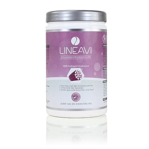 3 opinioni per Polvere proteica al collagene di LINEAVI • 100% collagene idrolizzato da bovini