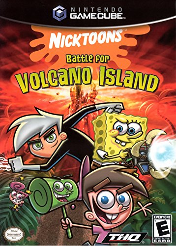 Nicktoons Battle for Volcano Island - Gamecube (Danny Sandy Costumes)