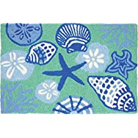Jellybean Shell Toss Throw Rug