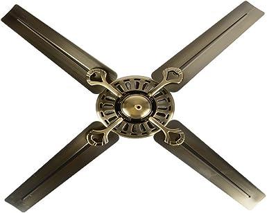 sdkky Europea estilo retro – Ventilador Fan lámpara, sin luz ...