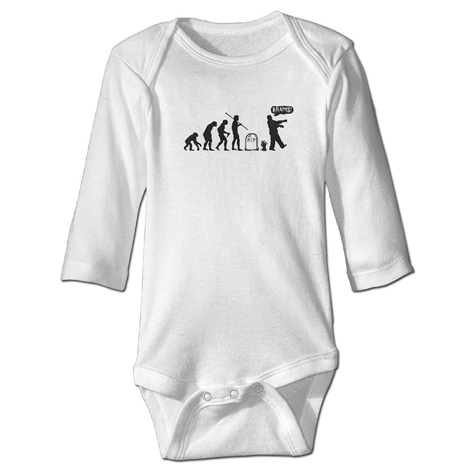 51433be0d376 DecorMyGarden Zombies Exist Funny Printed Romper Clothes For Baby 0-24  Months