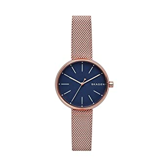 56ca6c73932e Amazon.com  Skagen Women s SKW2593 Rose Gold Mesh Watch  Watches