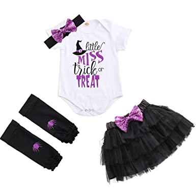 a1958706 IBTOM CASTLE Halloween Costumes, Baby Playsuit Outfits, Infant Girls  Rompers Baby Jumpsuit Clothes Newborn Romper Kids Summer Toddlers Short  Sleeve Outfits ...