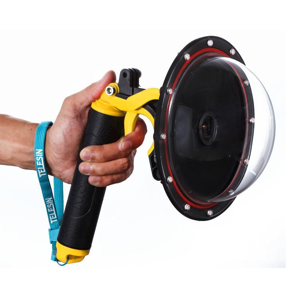 6インチ 水中撮影用ドームポートハウジング iKNOWTECH 6インチ GoPro Hero 3 3+ 4用ドームポート 海中撮影用透明レンズカバ-防水ハウジング付属   B071DFBGVR