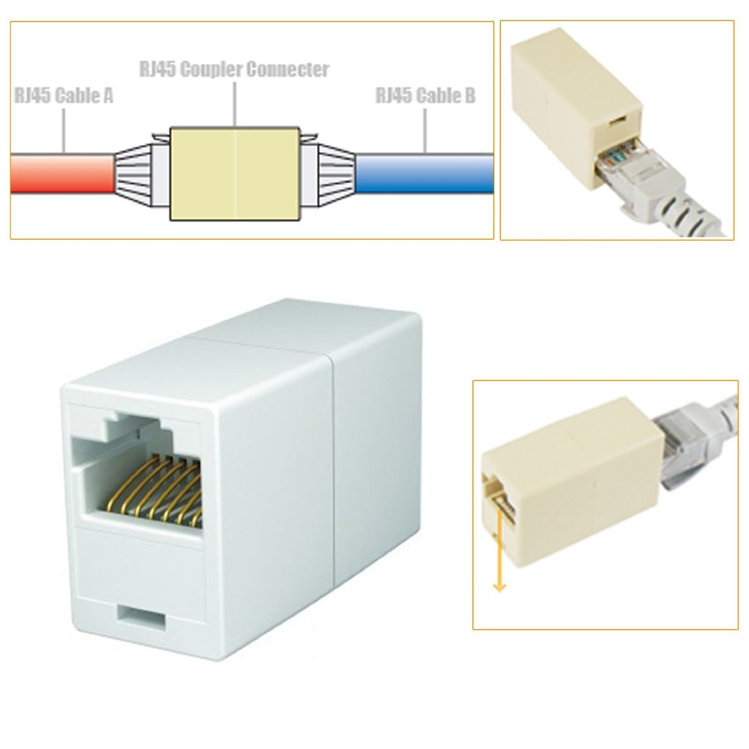 rj45 coupler wiring diagram gallery