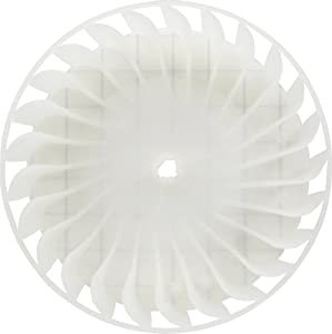 131476300 or AP2106979 Clothes Dryer Blower Wheel fits Electrolux, Frigidaire, Gibson, Kelvinator, Westinghouse, and Kenmore (replaces 0131476300)