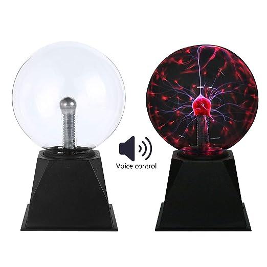 Balón de plasma, lámpara de plasma de gran tamaño, globo eléctrico ...