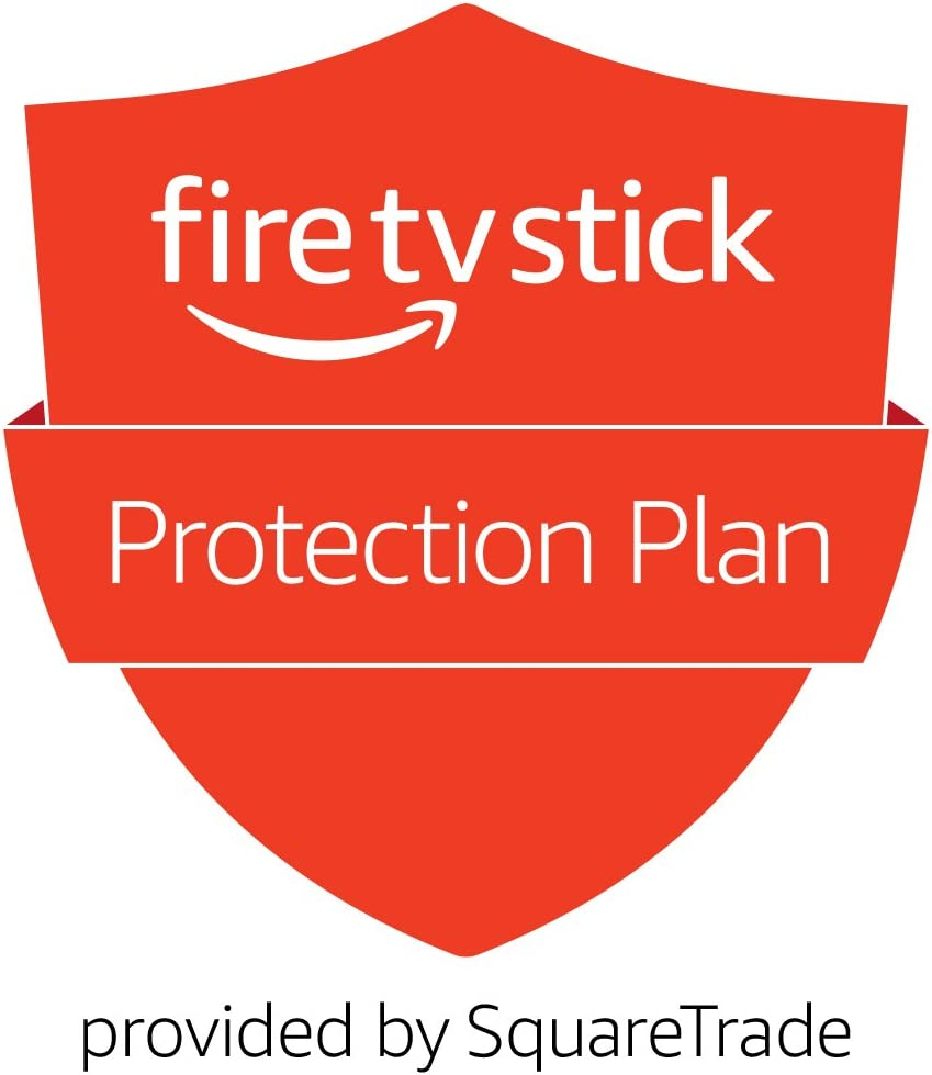 3-Year Protection Plan for Fire TV Stick with all-new Alexa Voice Remote, streaming media player (2019 release)