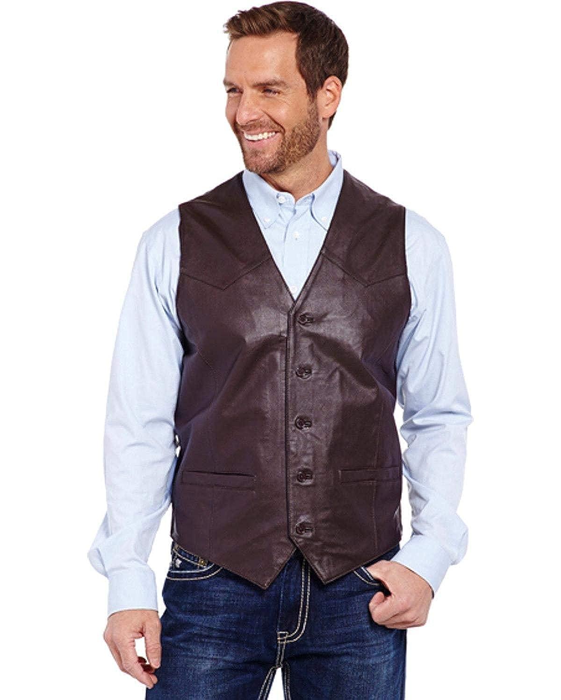 727718f551b Cowboy Shop Men's Leather Vest