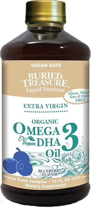 Buried Treasure Organic Omega 3 with Vegan DHA