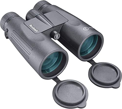 Bushnell 12×50 Black Roof Prism FMC, WP FP, Twist-up Eyecups, Box 6L BPR1250