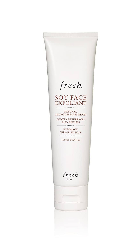 Fresh Soy Face Exfoliant  3.4oz (100ml) Secura Moisturizer Cream Unscented  3 oz. Tube, Pack of 4