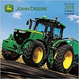 amazon john deere 2018 calendar trends international photography