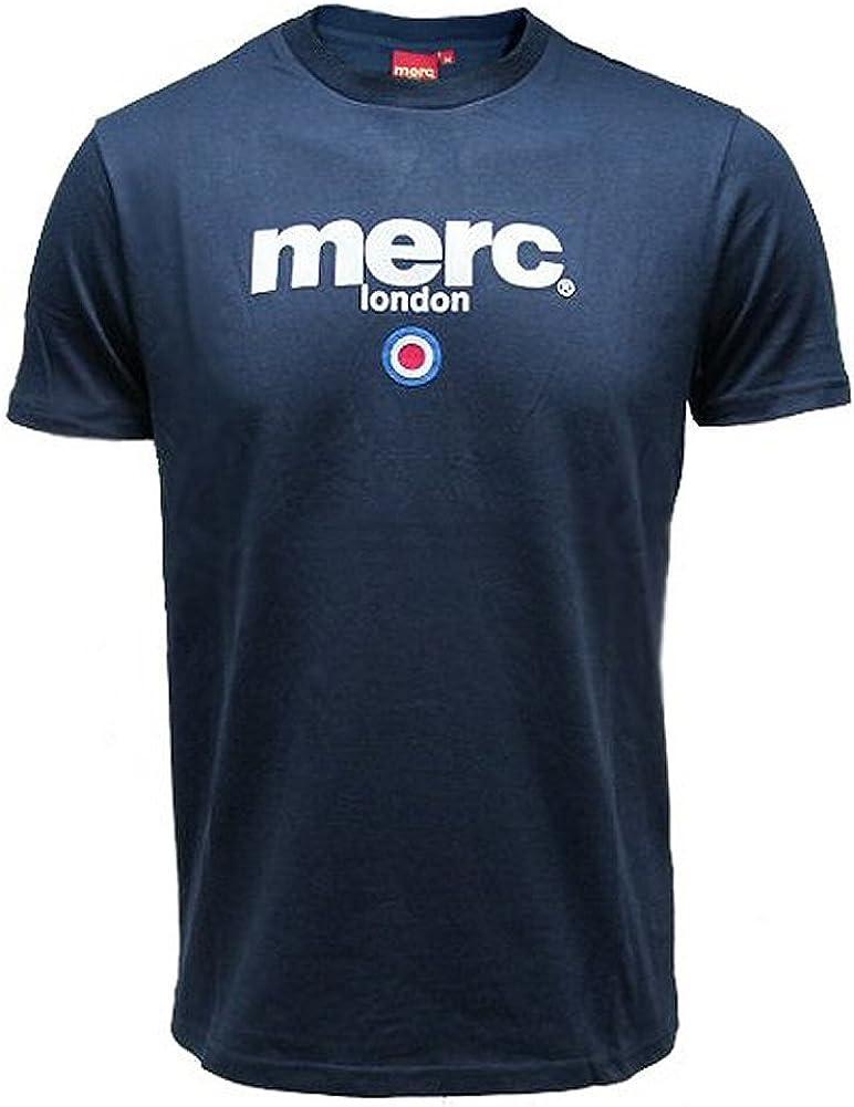 Merc London - Camiseta Brighton - Estilo mod de los 60 - Diana - Azul marino-XXL: Amazon.es: Ropa y accesorios