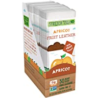 Stretch Island Original Fruit Leather, Apricot, 0.5 Ounce Leathers, 30 Count