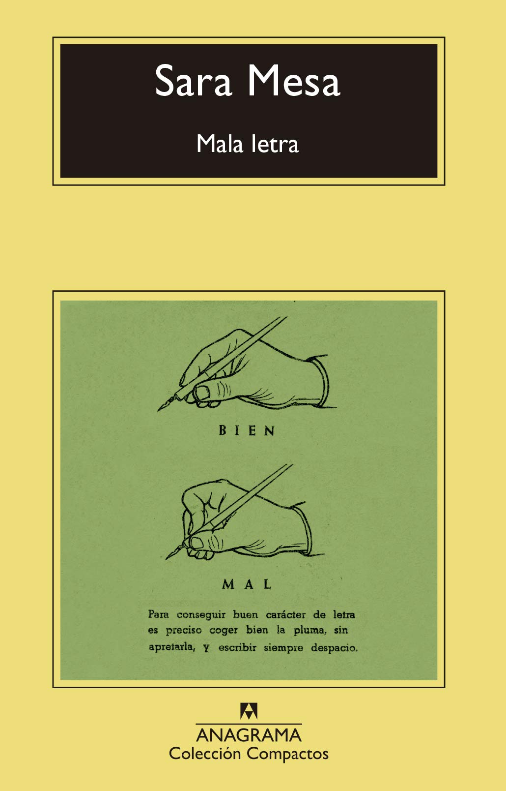 Mala letra: 741 (Compactos): Amazon.es: Mesa, Sara: Libros