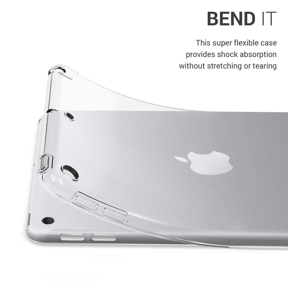 - Schwarz Transparent H/ülle Tab Case Schutzh/ülle Tablet Cover f/ür Apple iPad Mini 5 2019 kwmobile Apple iPad Mini 5 2019