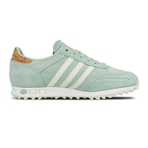 Zapatillas adidas - La Trainer W verde/blanco/blanco talla: 44: Amazon.es: Zapatos y complementos